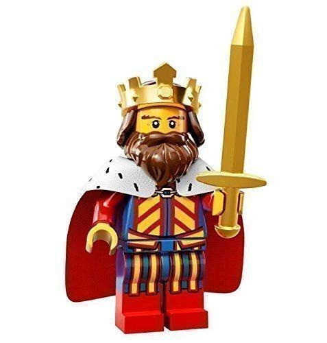 LEGO Minifiguren - Serie 13 - 71008 - Lego Series 13 König (Lego Serie 9 Minifiguren)