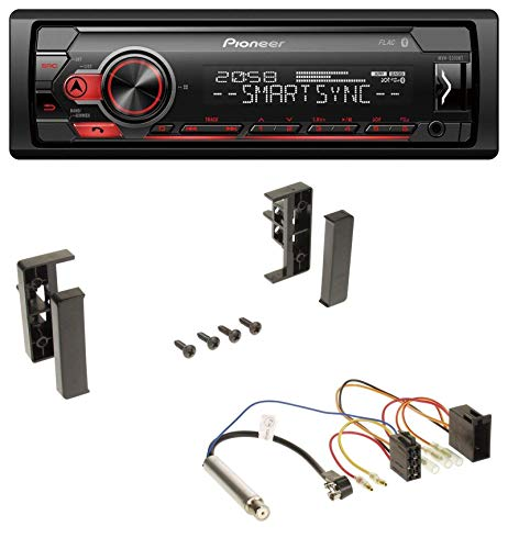 Pioneer MVH-S300BT MP3 Bluetooth AUX USB Autoradio für Audi A2 A3 8L 99-00 A4 B5 99-01 A6 C5 97-01