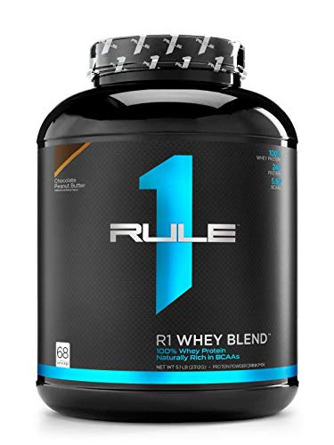 Rule1 R1 Whey Blend (5lbs) Chocolate Peanut Butter Ohne Pfand, 2270 g -