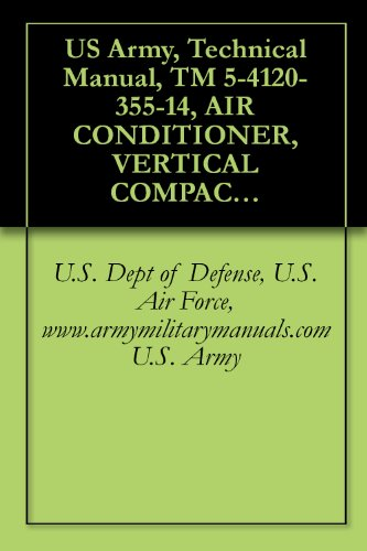 US Army, Technical Manual, TM 5-4120-355-14, AIR CONDITIONER, VERTICAL COMPACT, 6,000 115 V, 1 PHASE, 50/60 HZ (WEDJ MODEL VM 6000-115), (NSN 4120-00- ... military manuals (English Edition) -