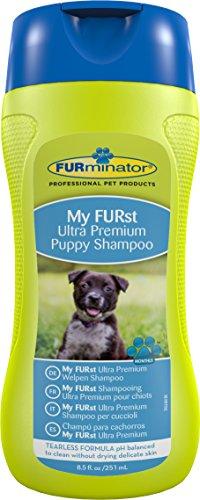 FURminator Ultra Premium-Shampoo für Welpen (für die Reinigung empfindlicher Welpenhaut), 250 ml Flasche (Welpen-shampoo)