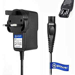 T POWER Ac Dc Adapter Charger for Philips SatinShave Prestige Wet & Dry Electric Lady Shaver BRL130 BRL140 BRL160 CP0645 Power Supply