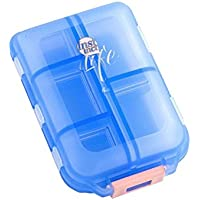 Tragbare Medizin Box Travel Portable Kit Dispenser Box (blau transparent) preisvergleich bei billige-tabletten.eu