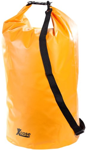 Xcase Sack wasserdicht: Wasserdichter Packsack 70 Liter, orange (Outdoor Packsack)