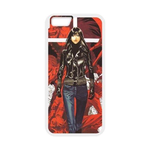 Death Note coque iPhone 6 Plus 5.5 Inch Housse Blanc téléphone portable couverture de cas coque EBDXJKNBO11838