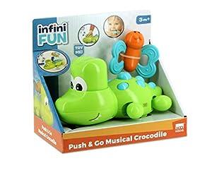 infinifun - Juguete de cocodrilo, Color Verde