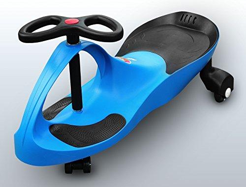 RIRICAR Blau Spielzeugauto für Kinder - Antrieb durch Lenkbewegung, mit Flüsterrädern