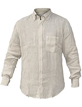 Camicia Uomo NAVIGARE Lino Manica Lunga Tg da M a 3XL Art.N692008