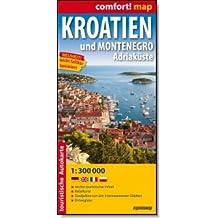 Kroatien und Montenegro. Adriaküste