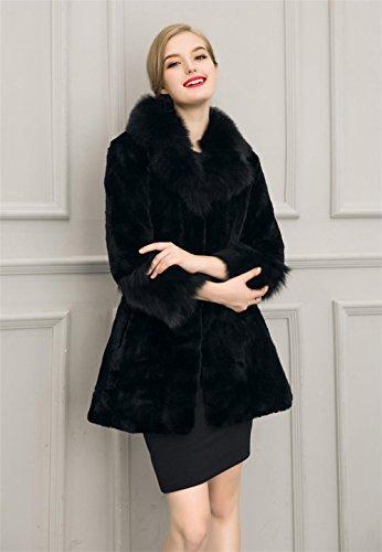 VLUNT - Manteau - Femme Noir