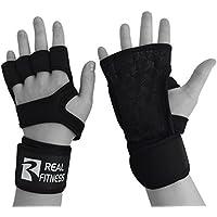 Workout Handschuhe mit Handgelenkstütze, Crossfit Hand & Palm Protectors mit Bandage Wrist–silicone-textured... preisvergleich bei billige-tabletten.eu