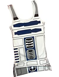 R2-D2 Kostüm -- Star Wars Fitted Juniors Tank-Top Shirt