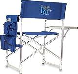 Picnic Time NCAA Universität Memphis Tigers Digital Print Sports Stuhl, Marineblau, One Size