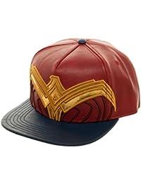 DC Comics Wonder Woman Suit Up Applique Snapback Casquette De Baseball