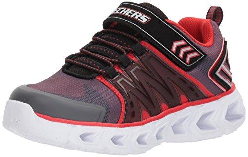 SKECHERS Hypno Flash 2.0 Größe 37 Charcoal/Black/Red (5 Jungen Größe Skechers Schuhe)