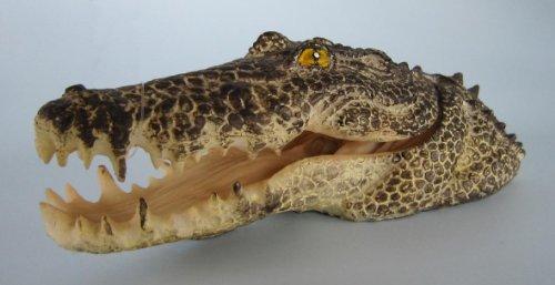 Krokodil Kopf (Orbit Krokodil-Kopf 15 x 6 x 5 cm)