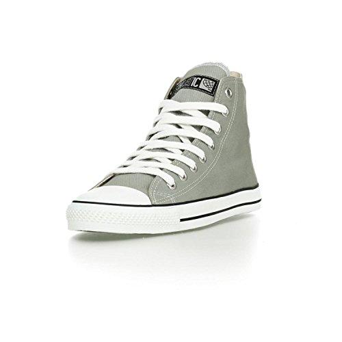 Ethletic Sneaker HiCut / High-Sneaker aus Bio-Baumwolle – urban grey / white – nachhaltig & fair - 2