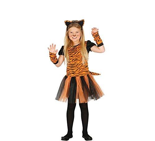 Imagen de disfraz de tigresa tutú para niña