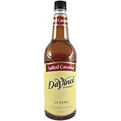 DaVinci Gourmet Classic Salted Caramel Syrup Pet, 1er Pack (1 x 1 l)