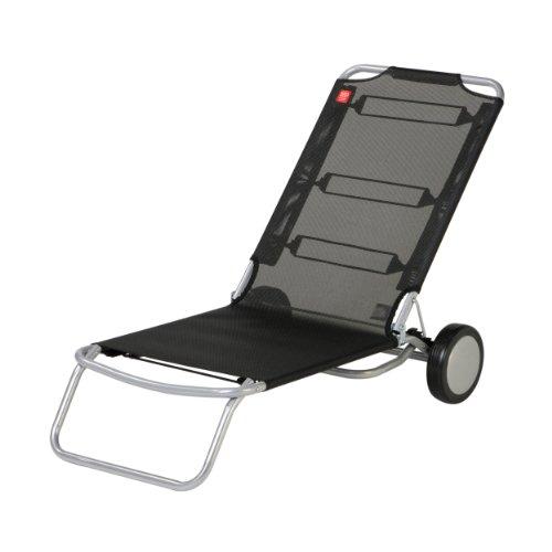 Wheely Strandstuhl schwarz