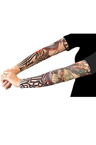 (Unbekannt AEC–ac0332–Paar Ärmel tatouees–12Modelle sortiert 100% polyester-adulte)