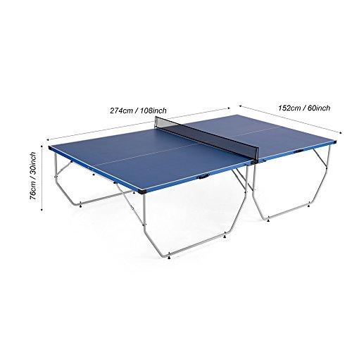 Lixada tavoli da ping pong portatile formazione pratica - Tavolo da ping pong amazon ...