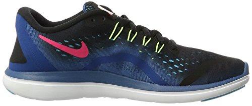 Nike Damen Womens Free Rn Sense Scarpa Da Corsa Hallenschuhe Mehrfarbig (nero / Bianco-industriale Blu-racer Rosa)