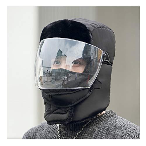 PENGFEI Chapeau d'hiver Casquette Hommes Et Femmes Garder Au Chaud Coupe-Vent Faire du Vélo À L'extérieur, 8 Couleurs
