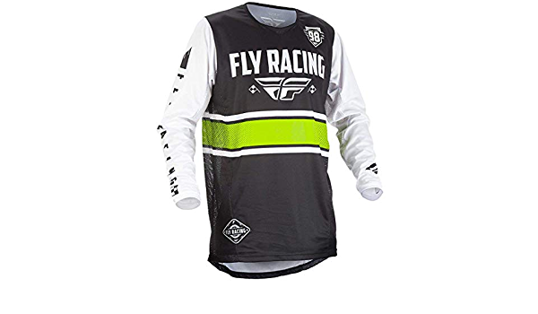 Fly Racing 2018 Kinetisch Era Jugend Motocross Mtb Trikot Schwarz Weiß Schwarz Weiß Xl Bekleidung