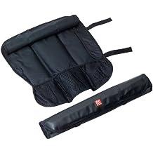 Zwilling 35002600 - Bolsa enrollable, (7 compartimentos), color negro