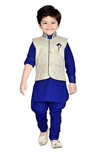 Ahhaaaa Kid's Kurta, Payjama and Waistcoat for Boys (6-12 Months)