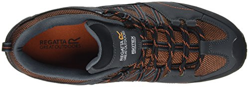 Regata Mens Samaris Basse Scarpe Da Trekking E Da Trekking Arancione (arancio / Radica)