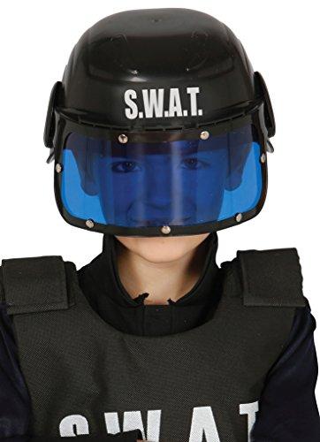 Guirca 13365.0 - Casco policía S.W.A.T Infantil, Talla única