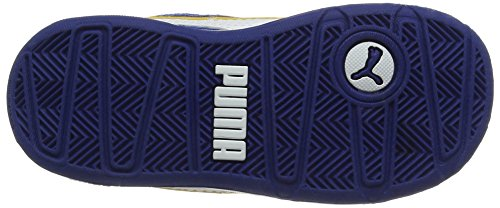 Puma Stepfleex Mesh V Inf, Scarpe da Ginnastica Basse Unisex – Bambini Blu (True Blue-puma White 03)