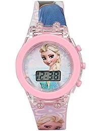Gubbarey Kids Digital Multicolour Dial Light Watch (Frozen)