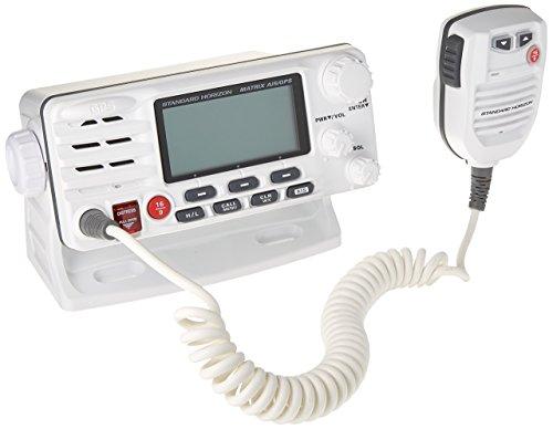 Standard Horizon Matrix Fixed Mount VHF w/AIS & GPS - Class D DSC - 30W - White Dsc Fixed Mount Vhf Radio