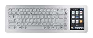 Asus EK1542 EeeKeyboard PC mit 12,7 cm (5 Zoll)  Display (Intel Atom N270, 1,6GHz, 1GB RAM, 16GB HDD, Intel GMA950, Win XP Home) silber