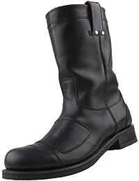 Bottes À Lacets. N ° 208 Passion Chaussure Noire