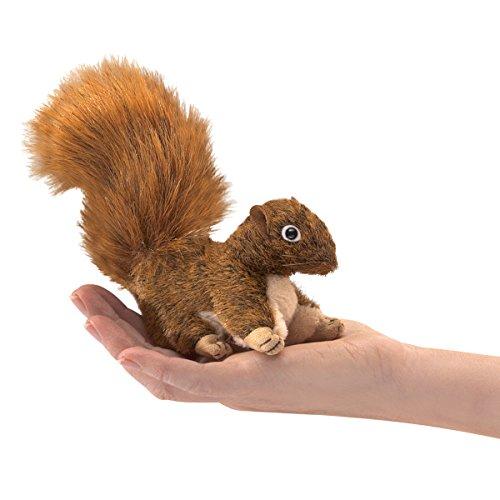 Folkmanis Puppets - 2735 - Marionnette et Théâtre - Mini Red Squirrel