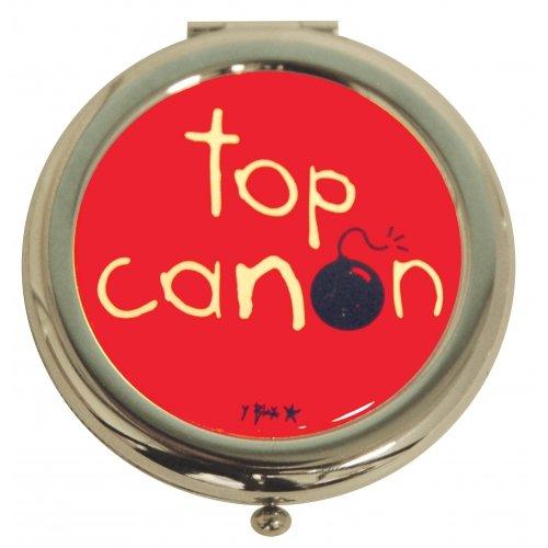 miroir-de-poche-metal-top-canon-rouge