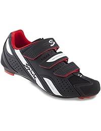 Spiuk Z15M02, Scarpe da ciclismo, unisex, nero (negro/blanco), 37