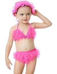 Bebé Bikini para Niña Beachwear Bañadores con tapa bañador 1 Mes - 6 Años Vine