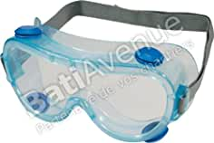 Delta Plus Venitex Galeras Clear PVC Safety Vented Goggles Eyewear Eye Glasses