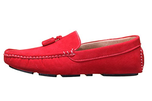 Reservoir Shoes - Mocassin Walter Moccassin Rouge Rouge