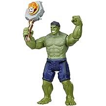Marvel Figura Deluxe Infinity War con Gema y Accesorio, Hulk (Hasbro E1405EU4)
