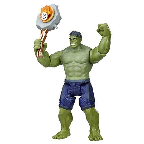 Marvel Figura Deluxe Infinity War con Gema y Accesorio, Hulk...
