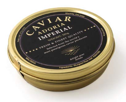 Adoria - caviale imperial - premium caviar selection - 50gr