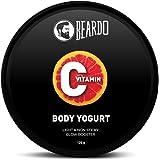 Beardo Vitamin C Body Yogurt for All Day Moisturization   Non-Greasy hydration for Men   Use daily for Brighter, Softer Skin