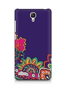 Amez designer printed 3d premium high quality back case cover for Xiaomi Redmi Note Prime (floral print )