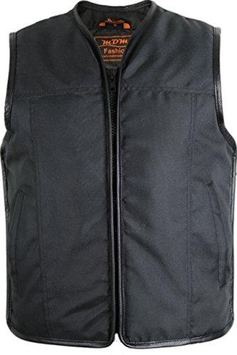 Textil Bikerweste (Winddicht und Wasserabweisend) (M)